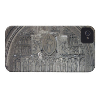 Christ with two angels and scenes from the life of iPhone 4 Case-Mate case