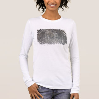Christ with two angels and scenes from the life of long sleeve T-Shirt