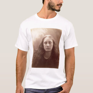Christabel, portrait of May Prinsep, c.1867 (sepia T-Shirt
