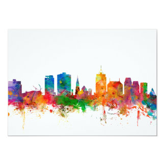 Christchurch New Zealand Skyline Card