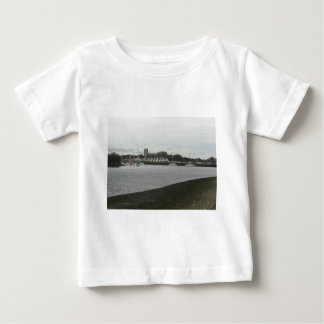 Christchurch Priory from Stanpit Marsh Baby T-Shirt