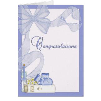Christening Baptism Congratulations Greeting Cards