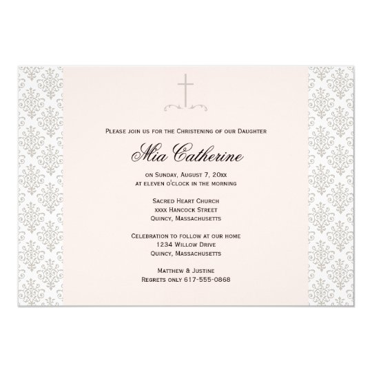 Christening / Baptism Invitation - Personalise