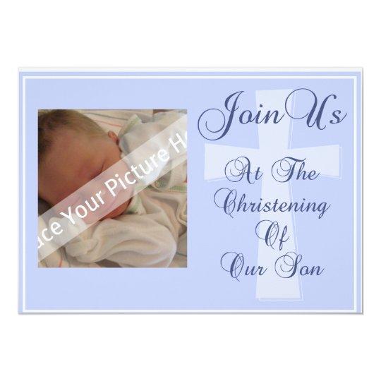 Christening/Baptism Son Invitation