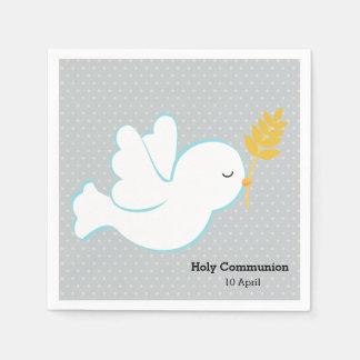 Christening dove * Choose background color Paper Napkin