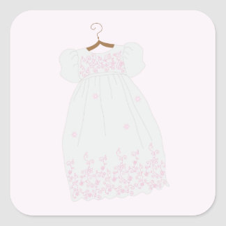 Christening Gown Stickers