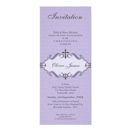 CHRISTENING INVITES :: viva 6P