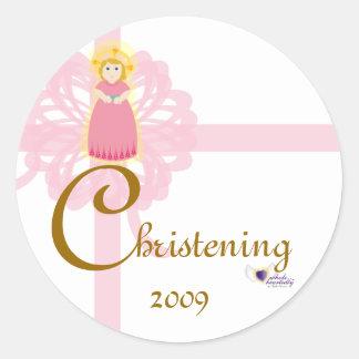 Christening Sticker-Customize
