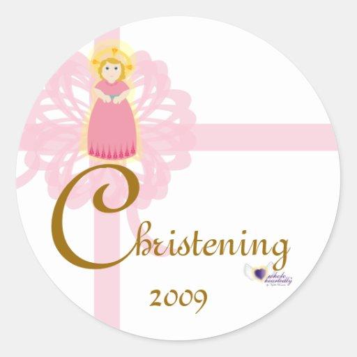 Christening! Sticker-Customize