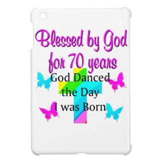 CHRISTIAN 70TH BIRTHDAY COVER FOR THE iPad MINI
