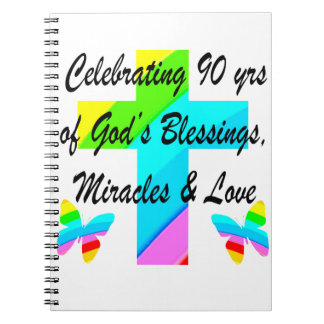 CHRISTIAN 90TH SPIRAL NOTEBOOK