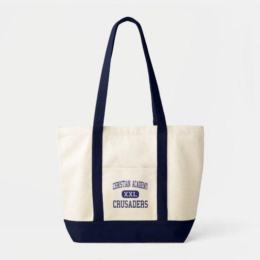 Christian Academy - Crusaders - High - Media Tote Bag