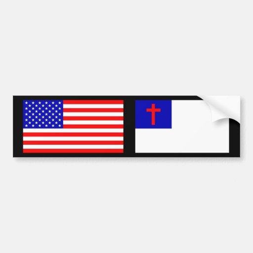 Christian American Bumper Stickers