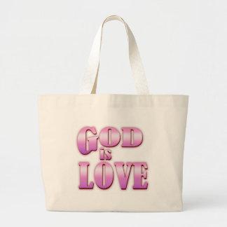 CHRISTIAN AMERICAN DESIGNS JUMBO TOTE BAG