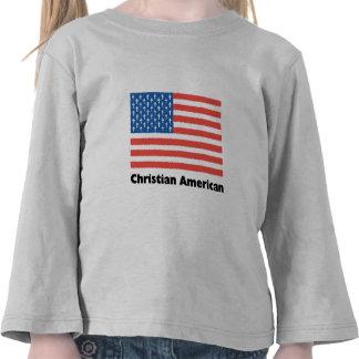 Christian American Flag T-shirts