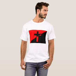 Christian Anarchist Anarchy Christianity Flag T-Shirt