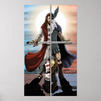 Christian and Pagan Unity! Poster