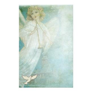 Christian Angel Dove Stationary Stationery