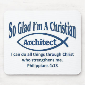 Christian Architect Mouse Pad