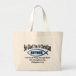 Christian Author Canvas Bag