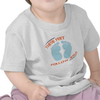 Christian baby t-shirt: Follow Jesus