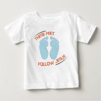 Christian baby t-shirt: Follow Jesus T Shirts