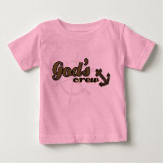 Christian baby t-shirt - God's Crew