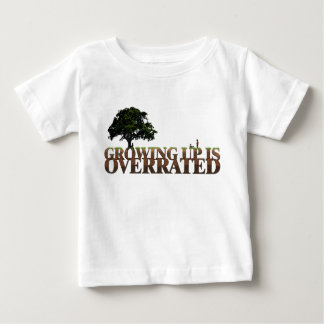 Christian baby t-shirt - Growing up is Overrated