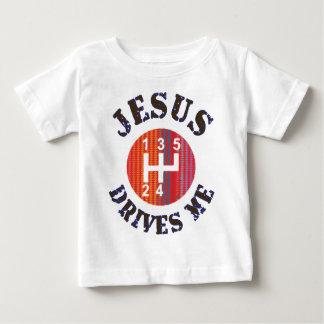 Christian baby t-shirt - Jesus Drives Me
