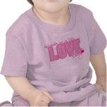 Christian baby t-shirt - Little Love Bug