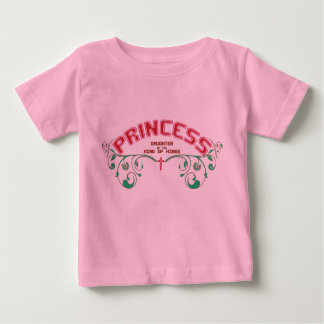 Christian baby t-shirt - Princess