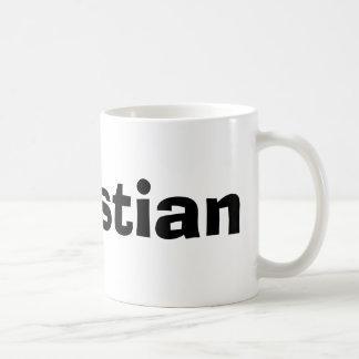 Christian Basic White Mug