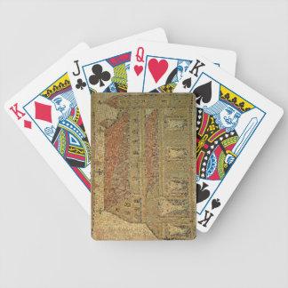 Christian basilica, mosaic pavement, Roman period, Poker Deck