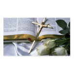 Christian Bible Business Card-See back