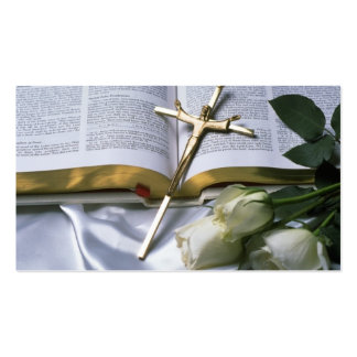 Christian Bible Business Card-See back Pack Of Standard Business Cards