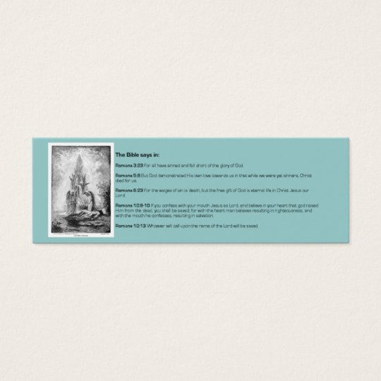 Christian Bible Tract 2 Card