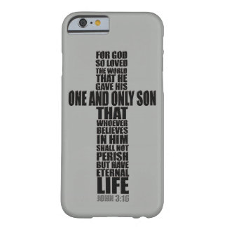 Christian Bible Verse John 3:16 Barely There iPhone 6 Case