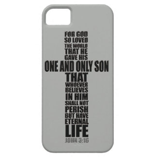 Christian Bible Verse John 3:16 Case For The iPhone 5