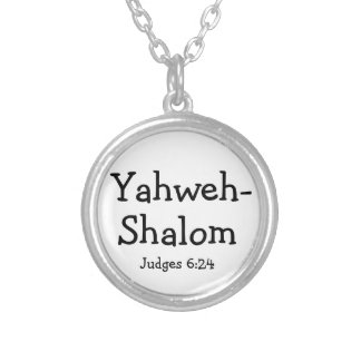 Christian Bible Verse Judges Necklace