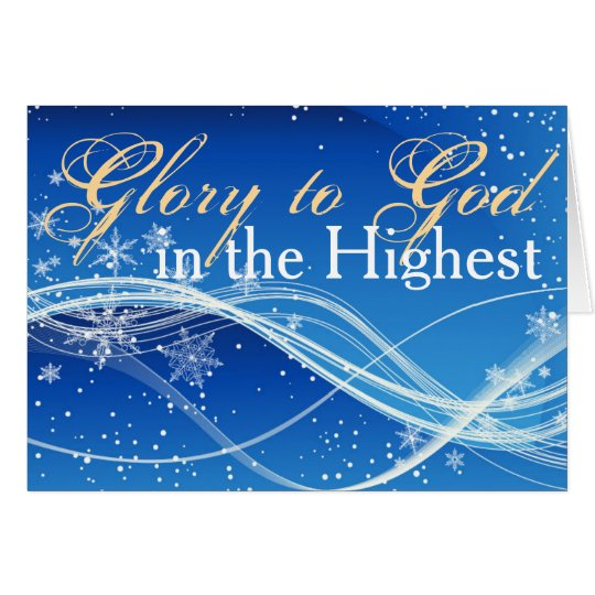 Christian Bible Verse Personalised Christmas Card