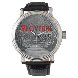 Christian Bible Verse Proverbs 3:5-6 Religious Watch
