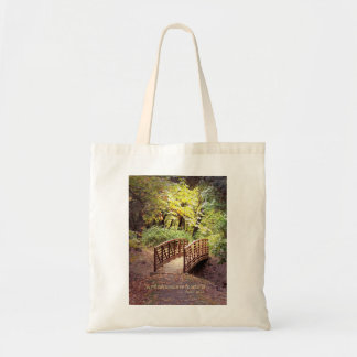 Christian Bible Verse Scripture Creationarts Tote Bag
