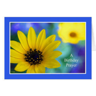 Christian Birthday Cards -- A Birthday Prayer