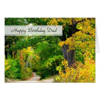 Christian Birthday Dad Father Scripture Card