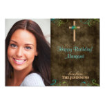 Christian Birthday Party Photo I can do all things 13 Cm X 18 Cm Invitation Card