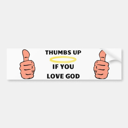 Christian Bumper sticker