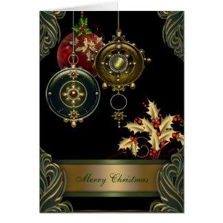 Christian Christmas Holiday Greeting Card