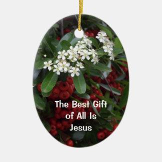 Christian Christmas Ornament - The Best Gift