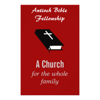 Christian Church Flyer Customizable""