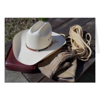 Christian Cowboy Western Southwest Note Card